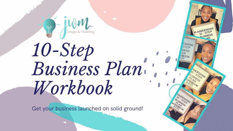 blog cover 10 step business plan workbook